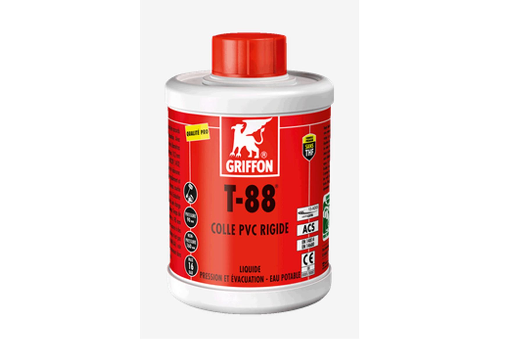 Colle pvc griffon t88 achat en ligne ou dans notre magasin for Colle pour fenetre pvc