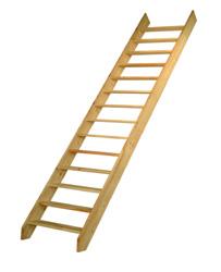 Escalier de meunier en bois pas d cal s haut sol sol 2 - Escalier de meunier ...