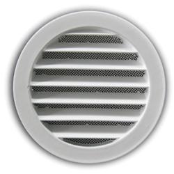 grille d 39 a ration ronde avec moustiquaire renson 435r. Black Bedroom Furniture Sets. Home Design Ideas
