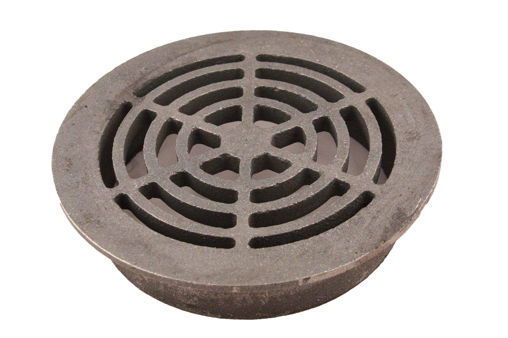 grille ronde fonte pour tuyaux pvc achat en ligne ou dans notre magasin. Black Bedroom Furniture Sets. Home Design Ideas