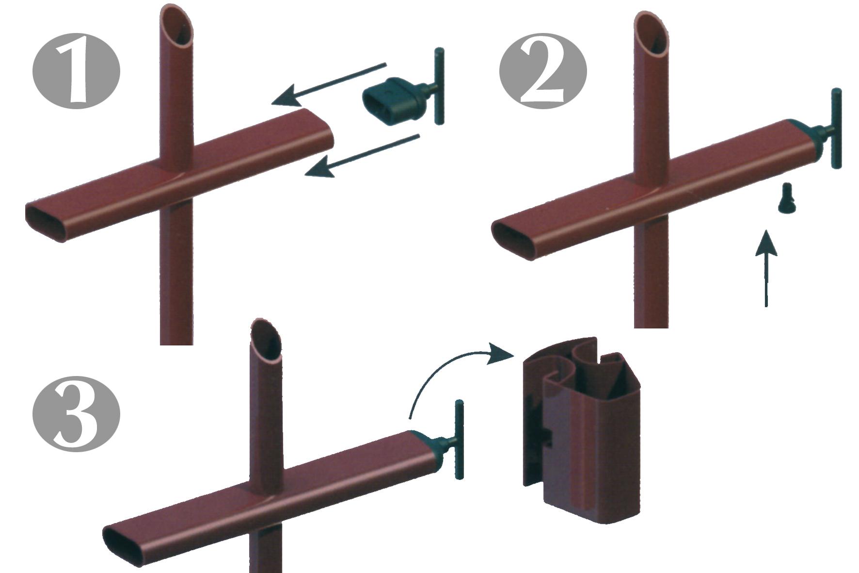 attache pour panneau elance achat en ligne ou dans notre magasin. Black Bedroom Furniture Sets. Home Design Ideas