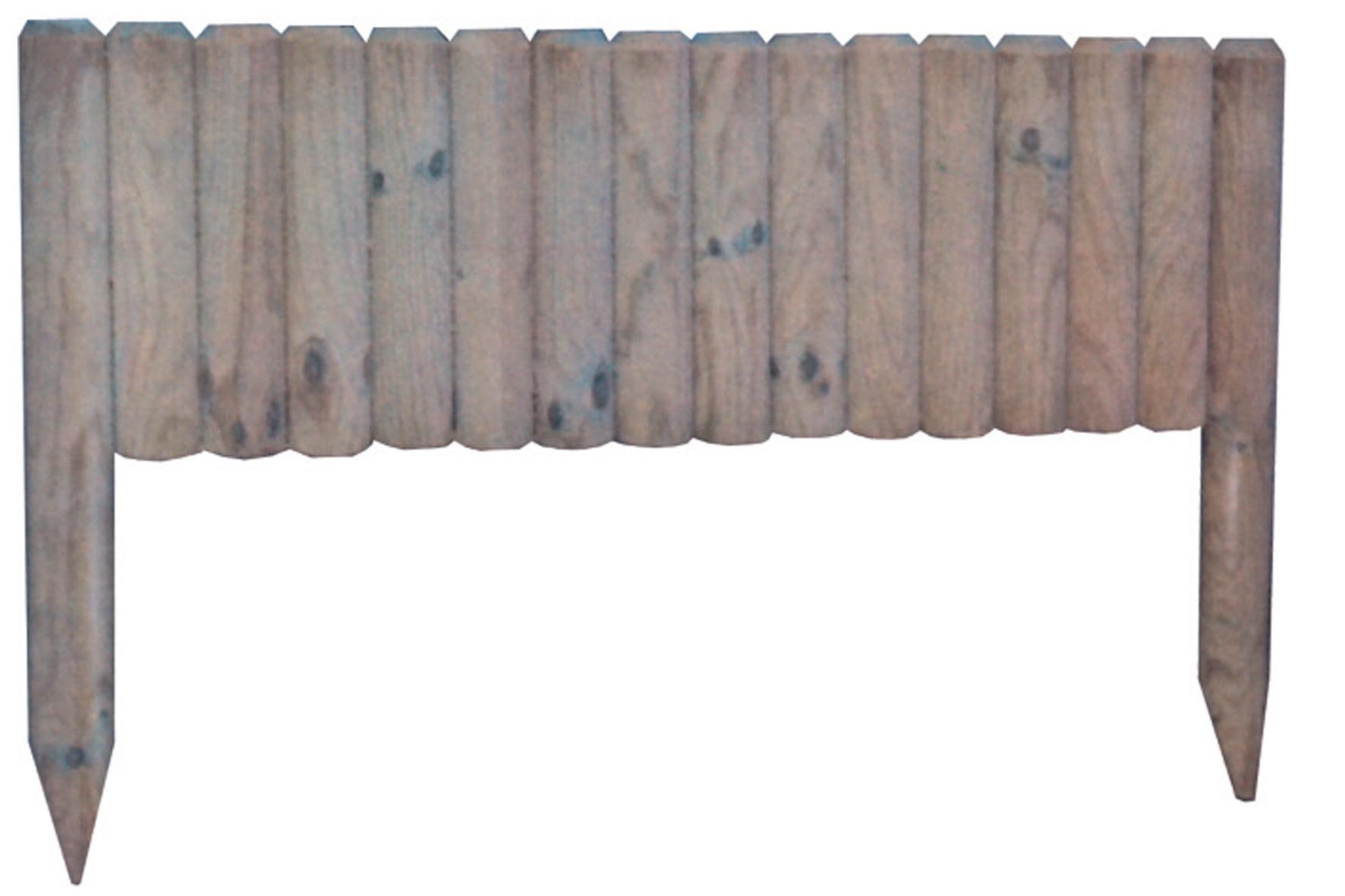 Bordure sapin rigide demi rond bordure sapin rigide demi rond