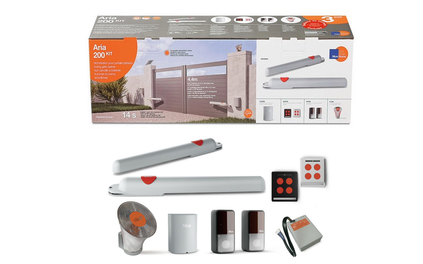KIT OUVERTURE PORTAIL VERIN NICE HOME ARIA400