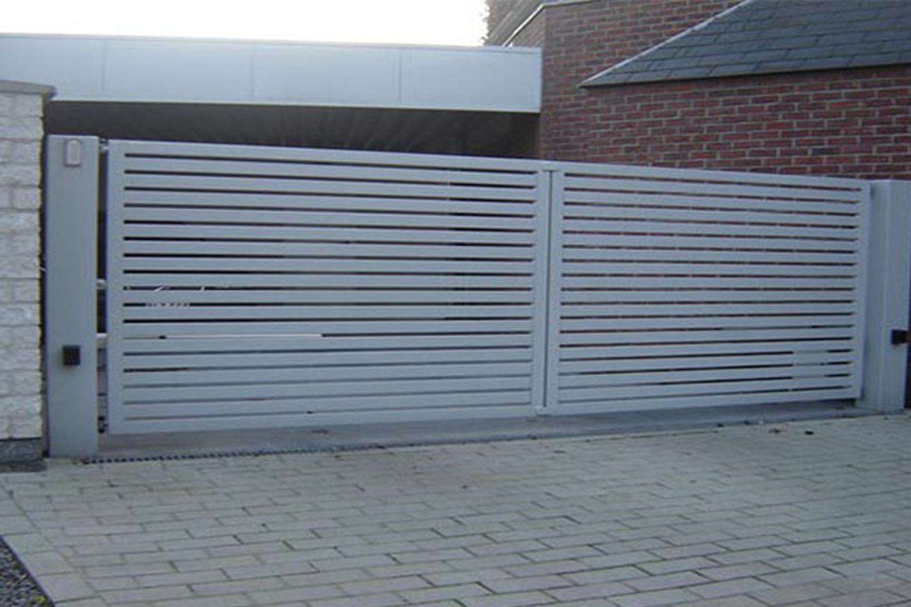 Design cloture jardin bekaert 2723 cloture beton for Cloture portail