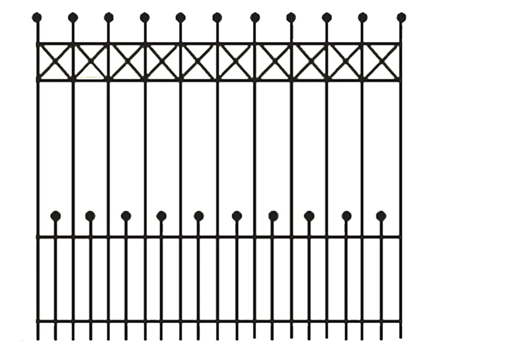 Portail double battant verona achat en ligne ou dans for Portail hauteur 2m