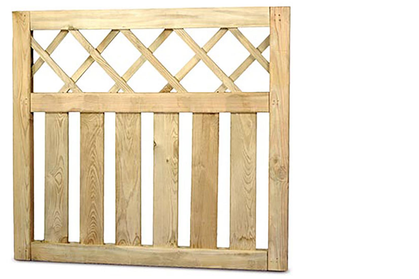 Portillon sapin country achat en ligne ou dans notre magasin - Portillon jardin bois ...