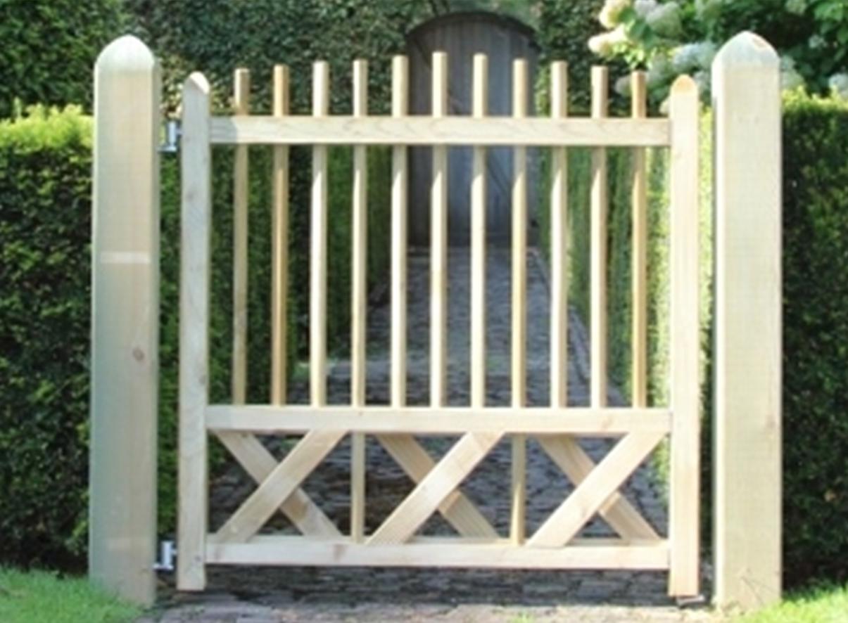 Portail de la rubrique clôture - sapin - Achat en ligne