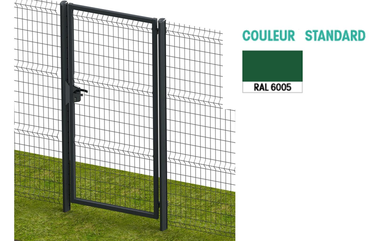Mousse Sur Portail Pvc portail simple battant - exel