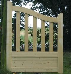 Portillon bois gand achat en ligne ou dans notre magasin for Portillon bois en kit