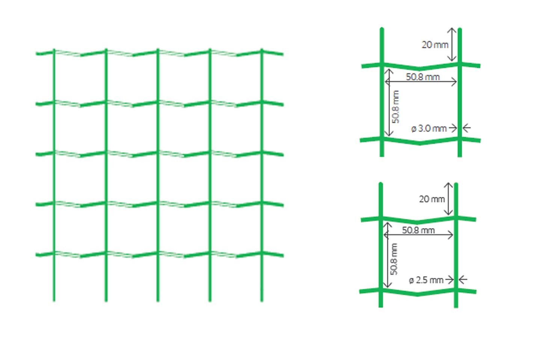 treillis plastifi soud 50 x 50 achat en ligne ou dans. Black Bedroom Furniture Sets. Home Design Ideas