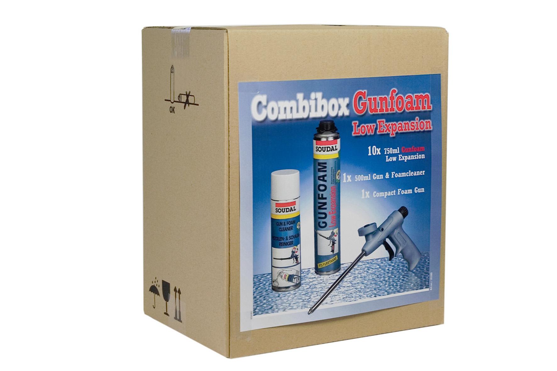 Mousse polyurethane combi box soudal achat en ligne ou for Isolation exterieur mousse polyurethane