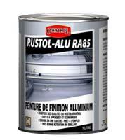 Couleur antirouille rustol alu achat en ligne ou dans notre magasin for Peinture radiateur couleur aluminium
