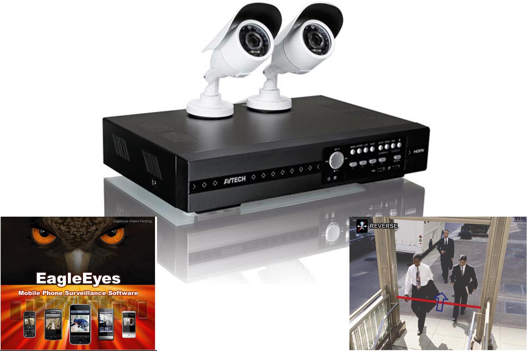 set de video surveillance velleman achat en ligne ou dans notre magasin. Black Bedroom Furniture Sets. Home Design Ideas