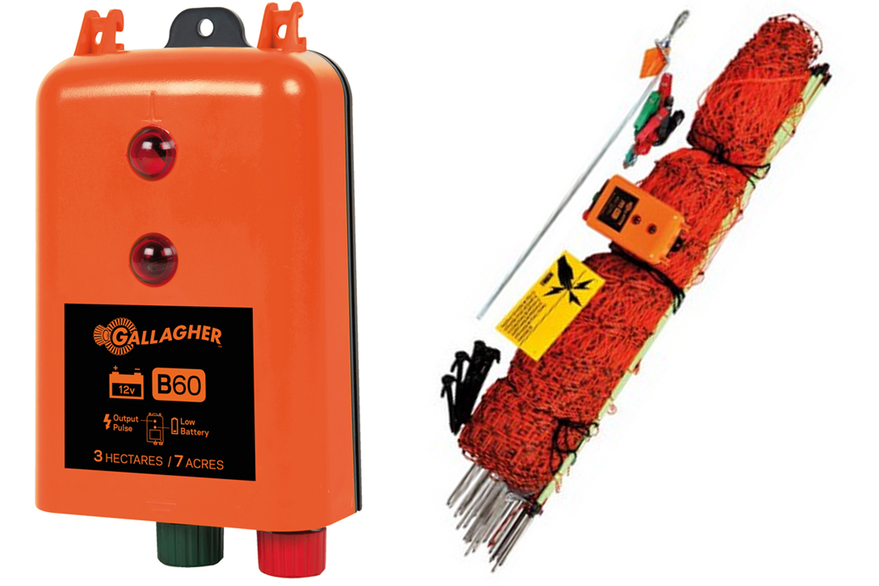 ELECTRIFICATEUR GALLAGHER B  60 - KIT VOLAILLE