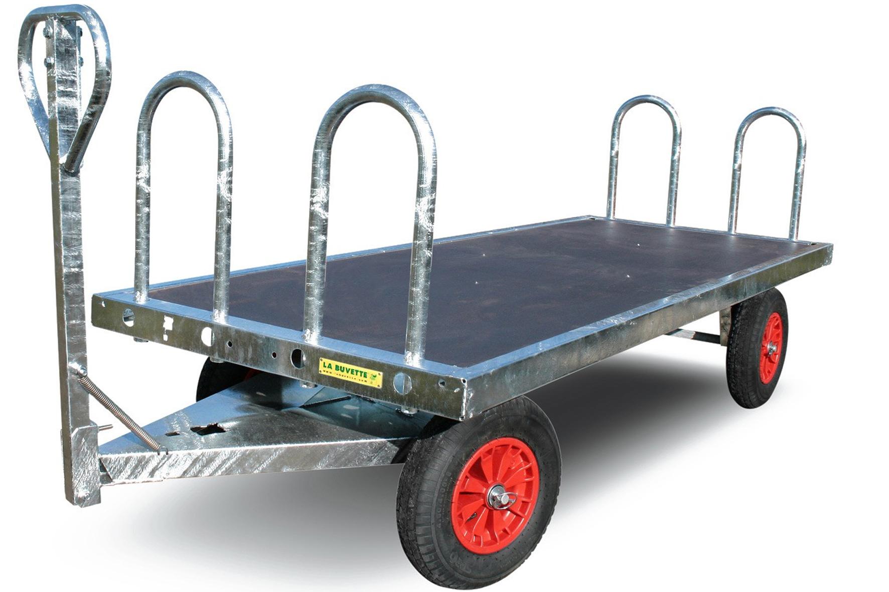 Chariot plateau achat en ligne ou dans notre magasin - Chariot porte roue tracteur ...