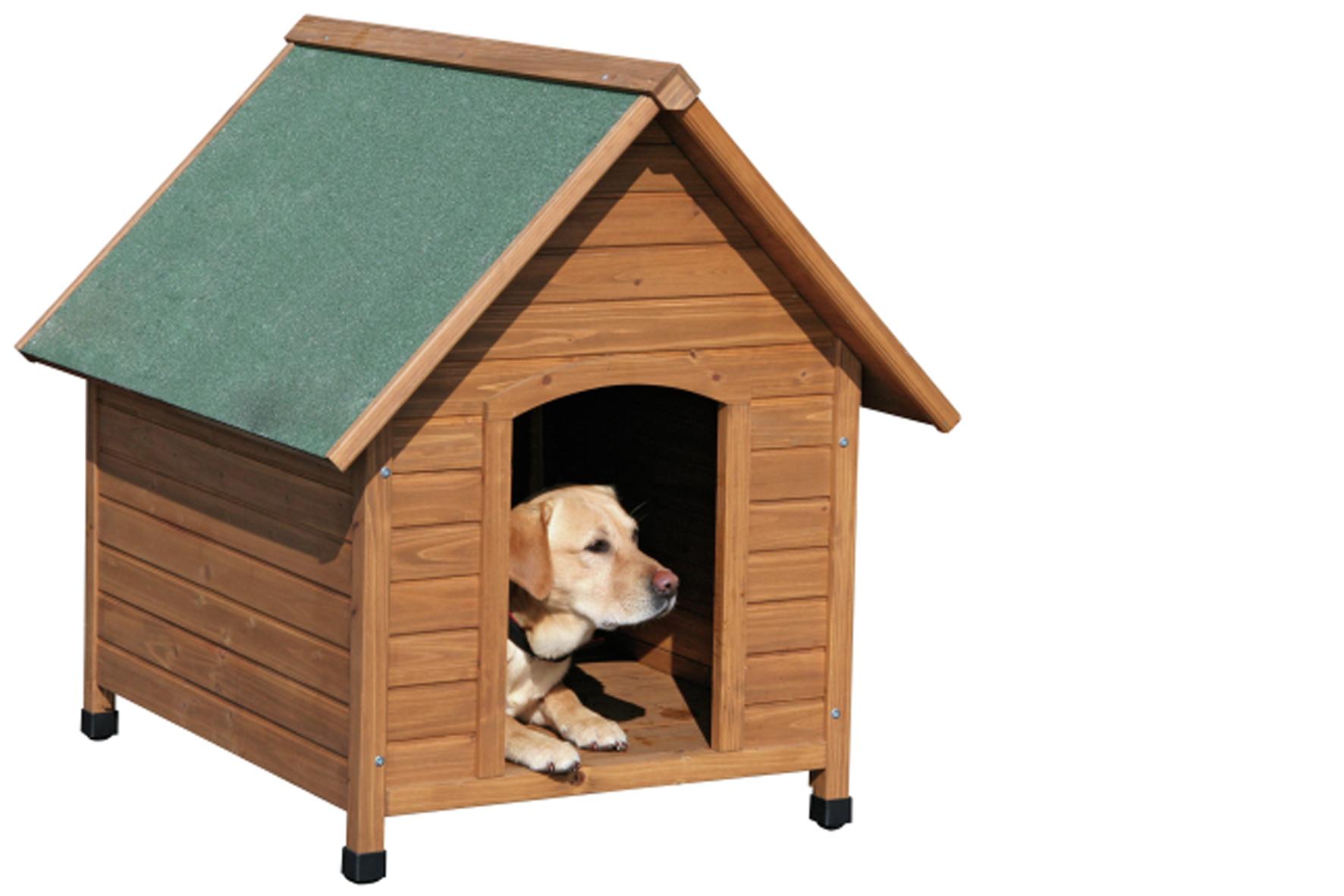 Niche en bois pour chien achat en ligne ou dans notre for Niche chien exterieur