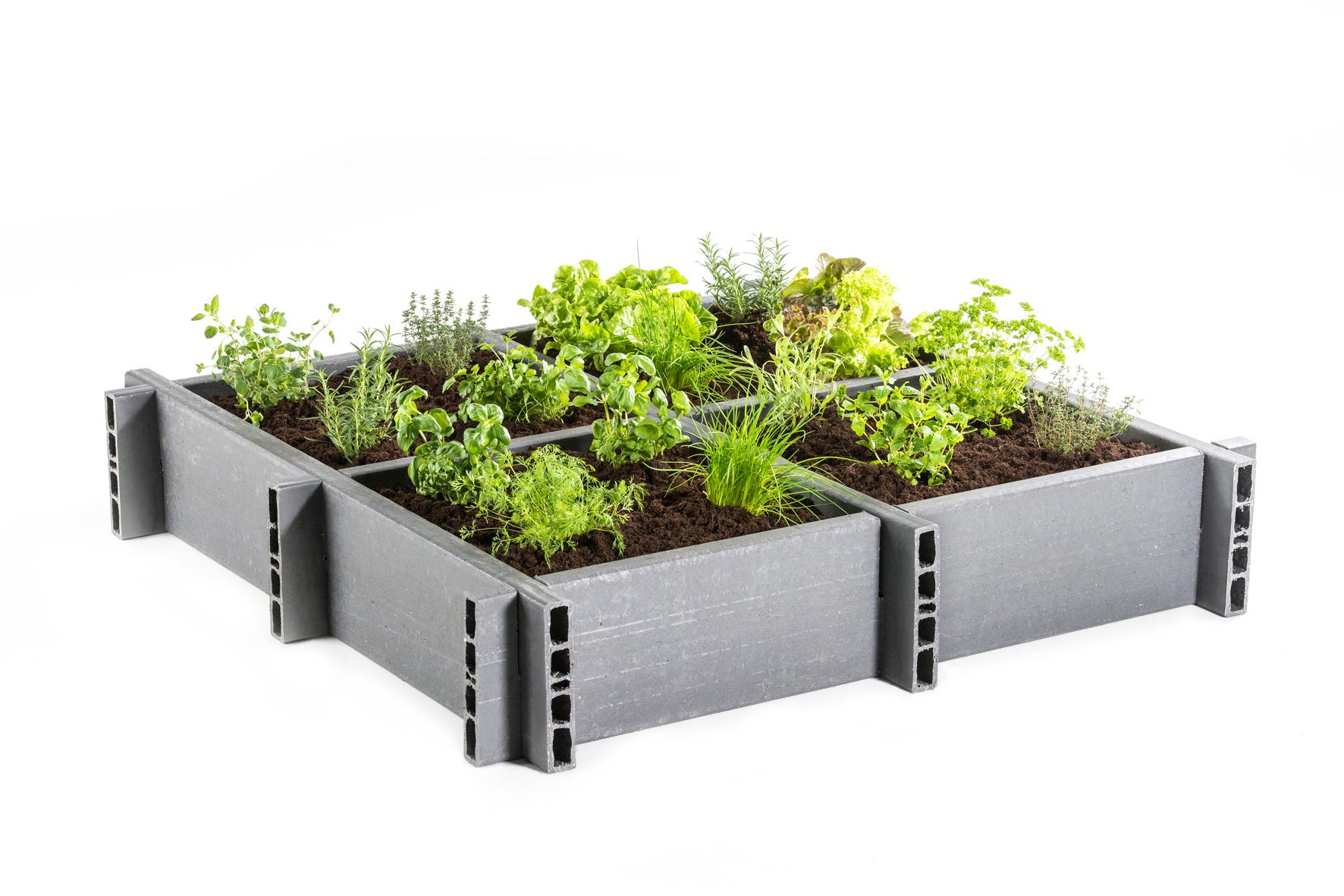 Bac potager ecoplanc achat en ligne ou dans notre magasin for Achat plantes jardin en ligne