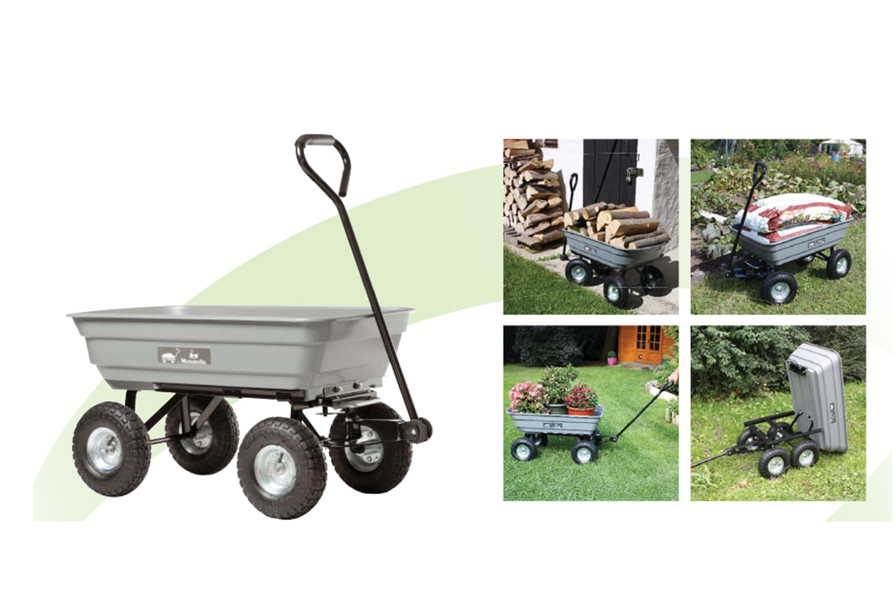 chariot de jardin haemmerlin achat en ligne ou dans notre. Black Bedroom Furniture Sets. Home Design Ideas