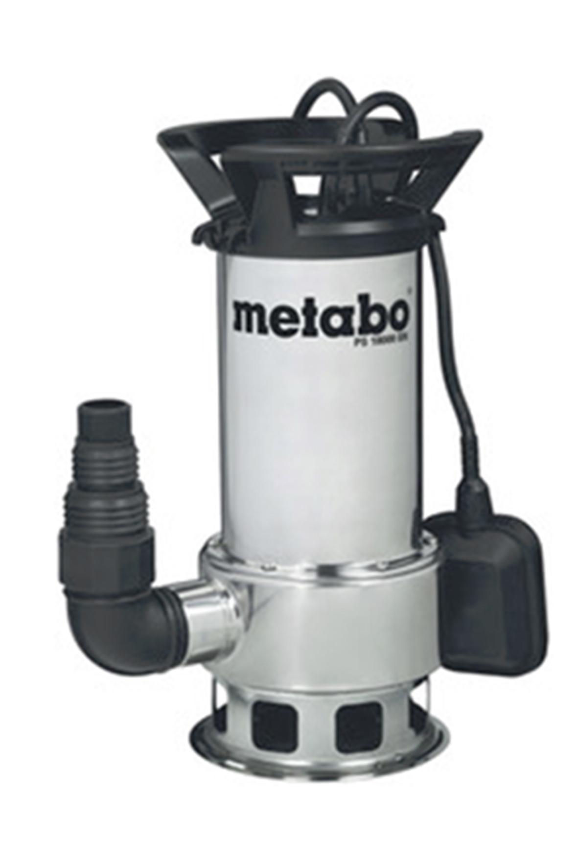 Pompe vidange metabo ps 18000 sn achat en ligne ou dans for Pompe eau jardin