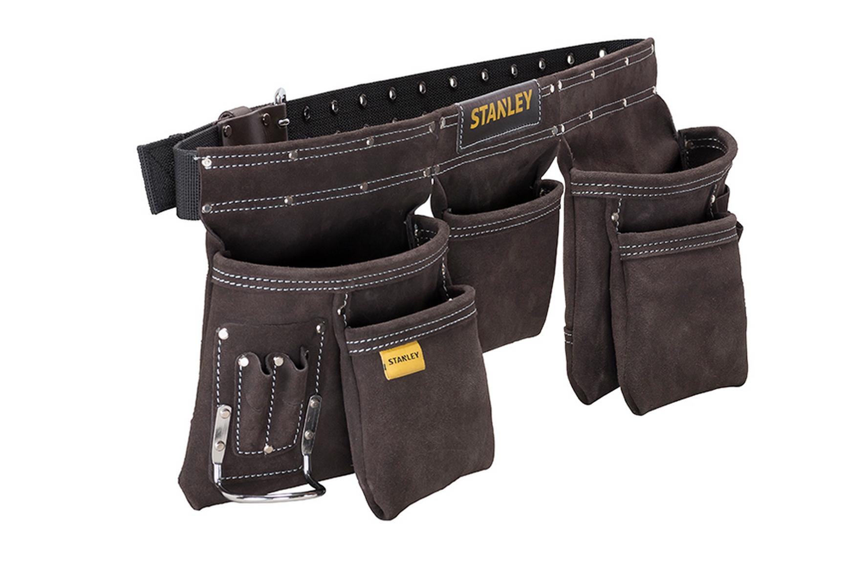 ceinture porte outils 5 poches stanley achat en ligne ou dans notre magasin. Black Bedroom Furniture Sets. Home Design Ideas