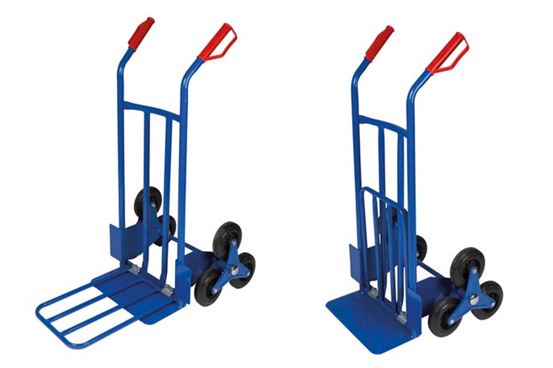 Diable roue gonflable great diable pliant en aluminium expresso charge utile kg with diable - Diable 6 roues ...