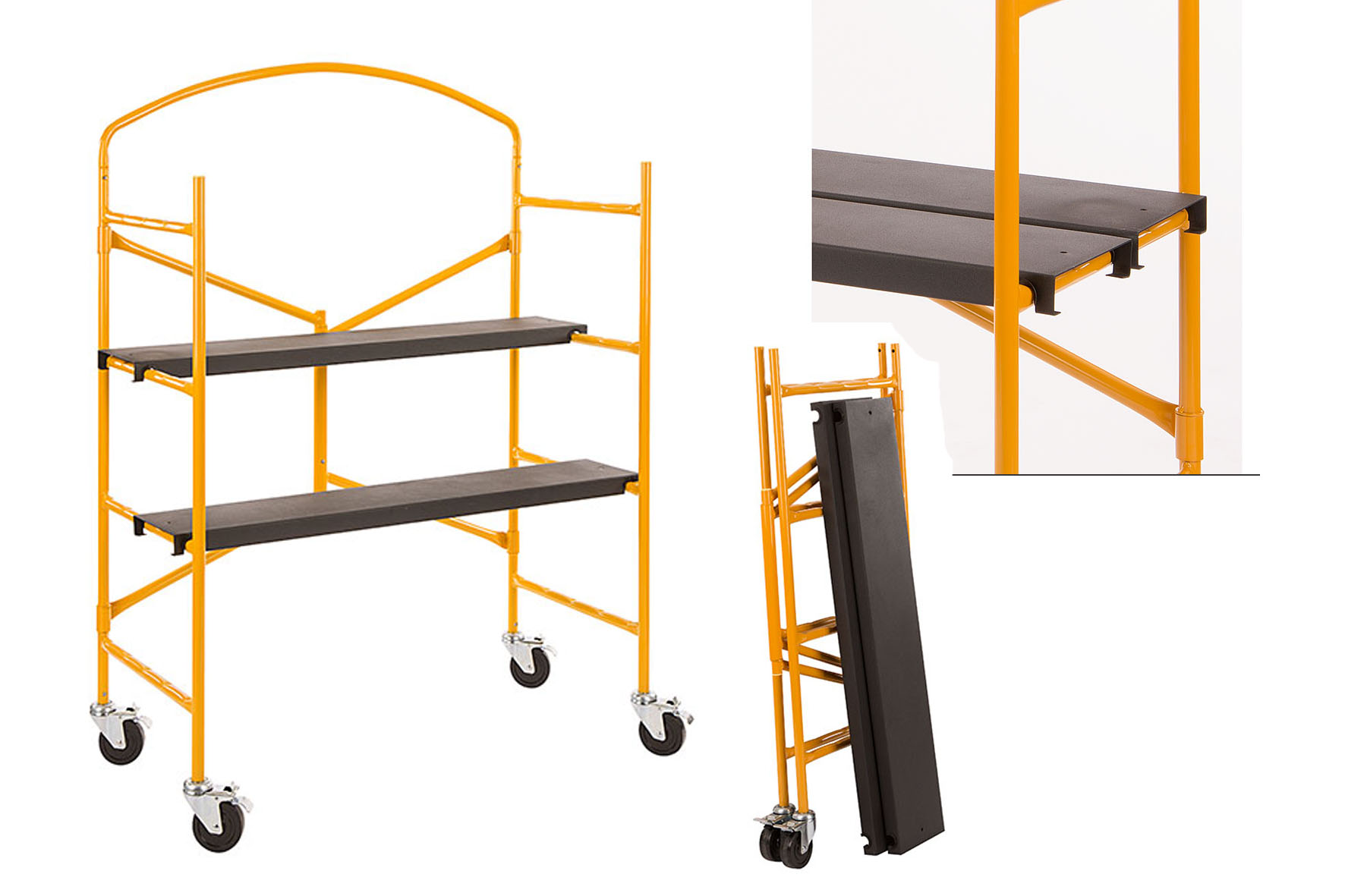 echafaudage pliant yellow tiger achat en ligne ou dans notre magasin. Black Bedroom Furniture Sets. Home Design Ideas