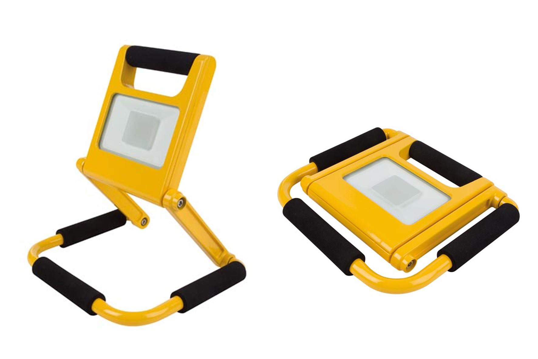 Rechargeable Led Lampe Chantier 10w De Perel Portatif Ultra Plat tQrhsd