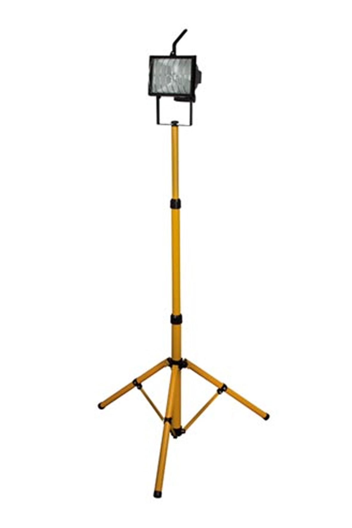 Lampe de chantier sur pied simple achat en ligne ou for Lampe exterieure sur pied