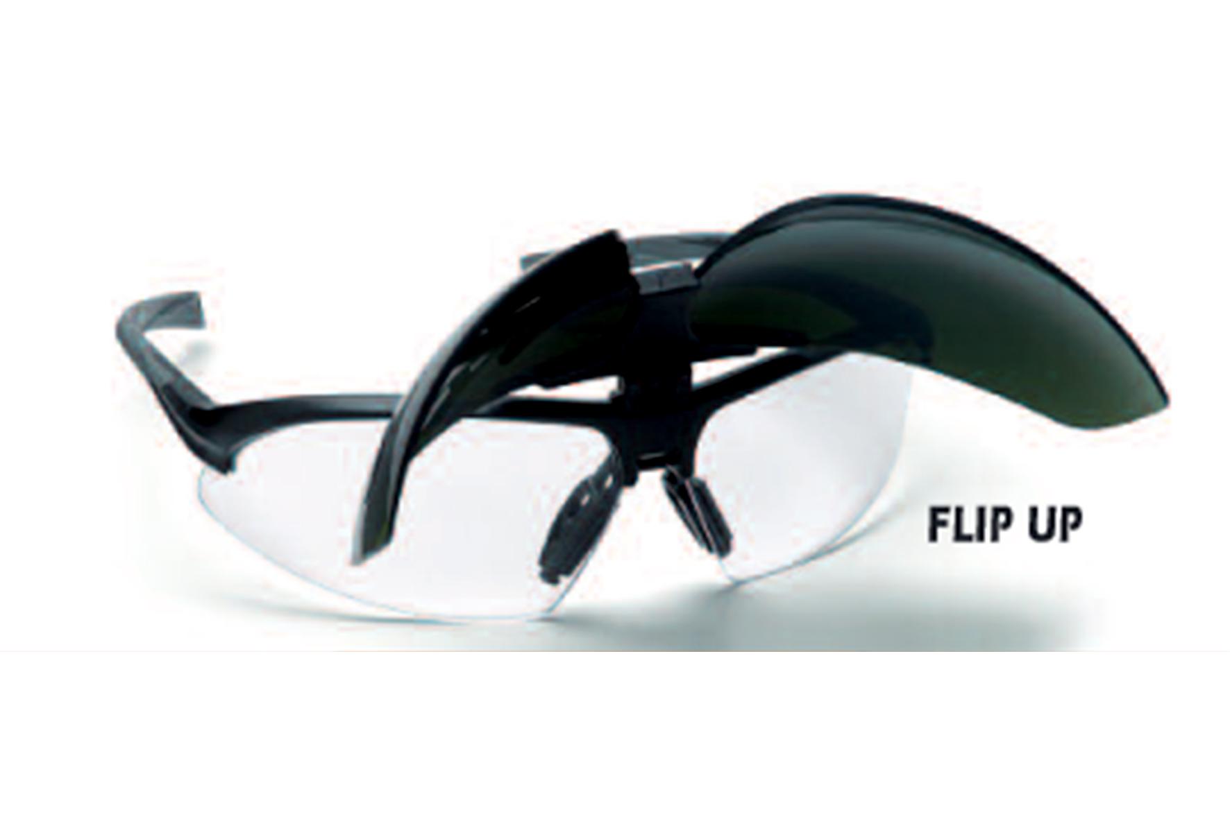 Lunettes soudeur flip up achat en ligne ou dans notre - Lunette de soudure ...