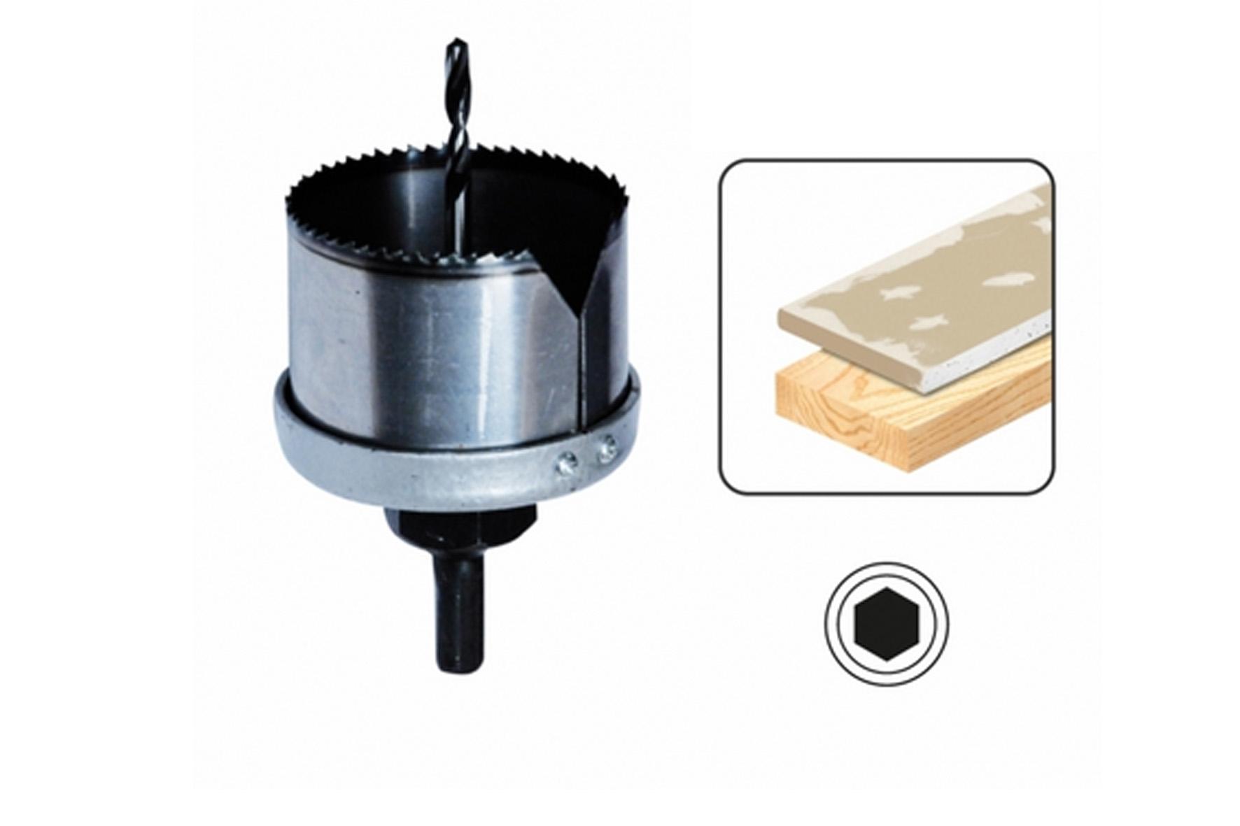 Diametre Scie Cloche Prise De Courant scie cloche bois plätre + trépan