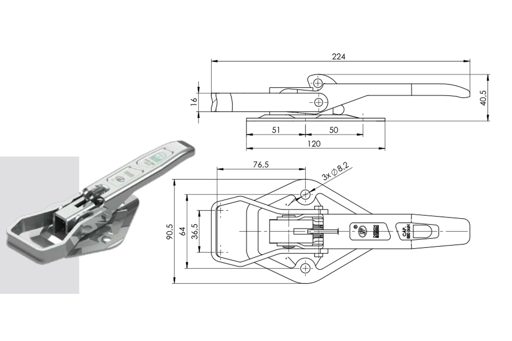 Verrou remorque zb 05a achat en ligne ou dans notre magasin - Achat materiel bricolage en ligne ...