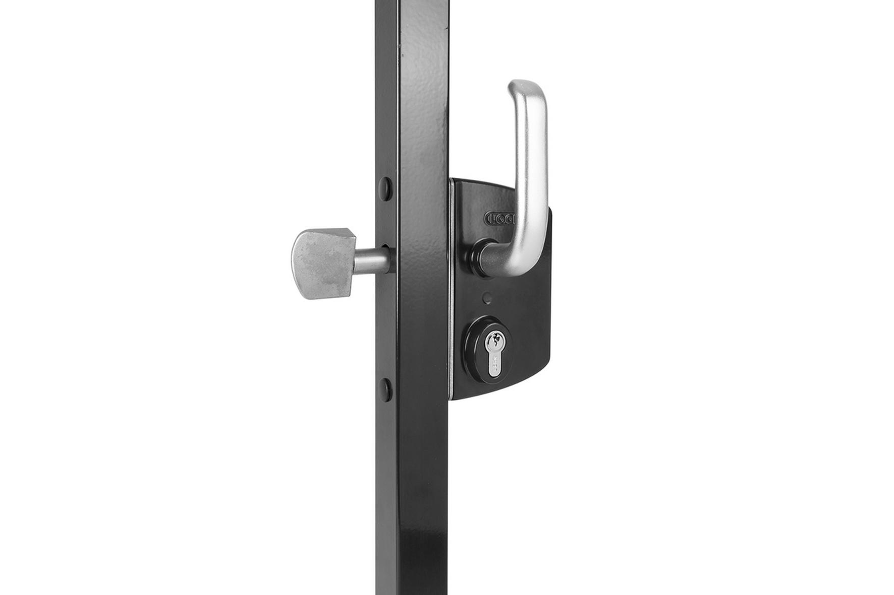 serrure aluminium pour portail coulissant achat en ligne. Black Bedroom Furniture Sets. Home Design Ideas