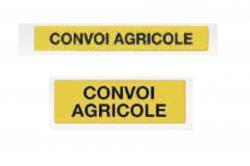 panneau alu rectangle convoi agricole