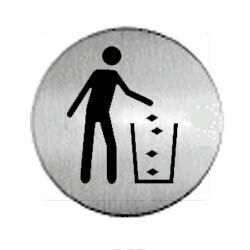 panneau aluminium rond poubelle achat en ligne ou dans. Black Bedroom Furniture Sets. Home Design Ideas