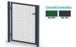 emejing barriere de jardin metallique images lalawgroup. Black Bedroom Furniture Sets. Home Design Ideas