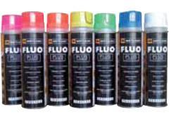 couleur marquage fluo chantier spray