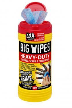 lingettes nettoyantes big wipes heavy duty