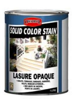 solid color stain