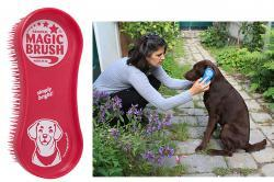 brosse pour chien magicbrush dog
