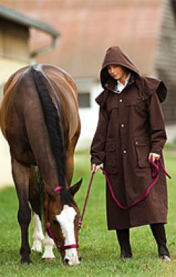 impermeable riding coat