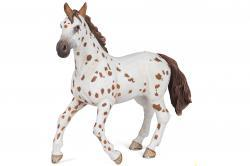jument appaloosa brune - papo 51509