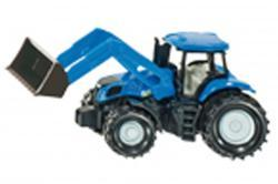 new holland + chargeur frontal - siku 1355