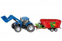 new holland avec strautmann verti-mix - 1988 - 1:50