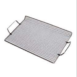 grille de cuisson barbecue rectangulaire