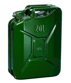jerrycan carburant metal