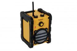 radio chantier 7w - 230v - accus