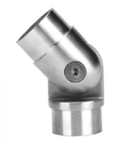 coude inox réglable