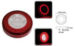 feu position-stop-recul led rond