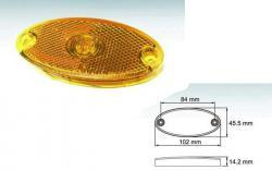 feu position oval grand led