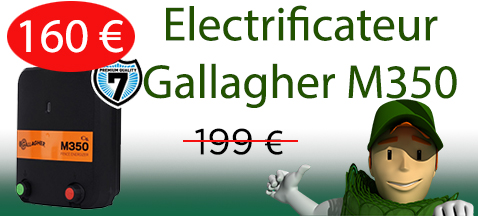 Electrificateur Gallagher M350
